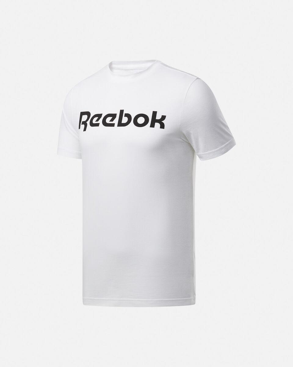 T-Shirt training REEBOK GRAPHIC SERIES LINEAR LOGO M S5146293 scatto 0