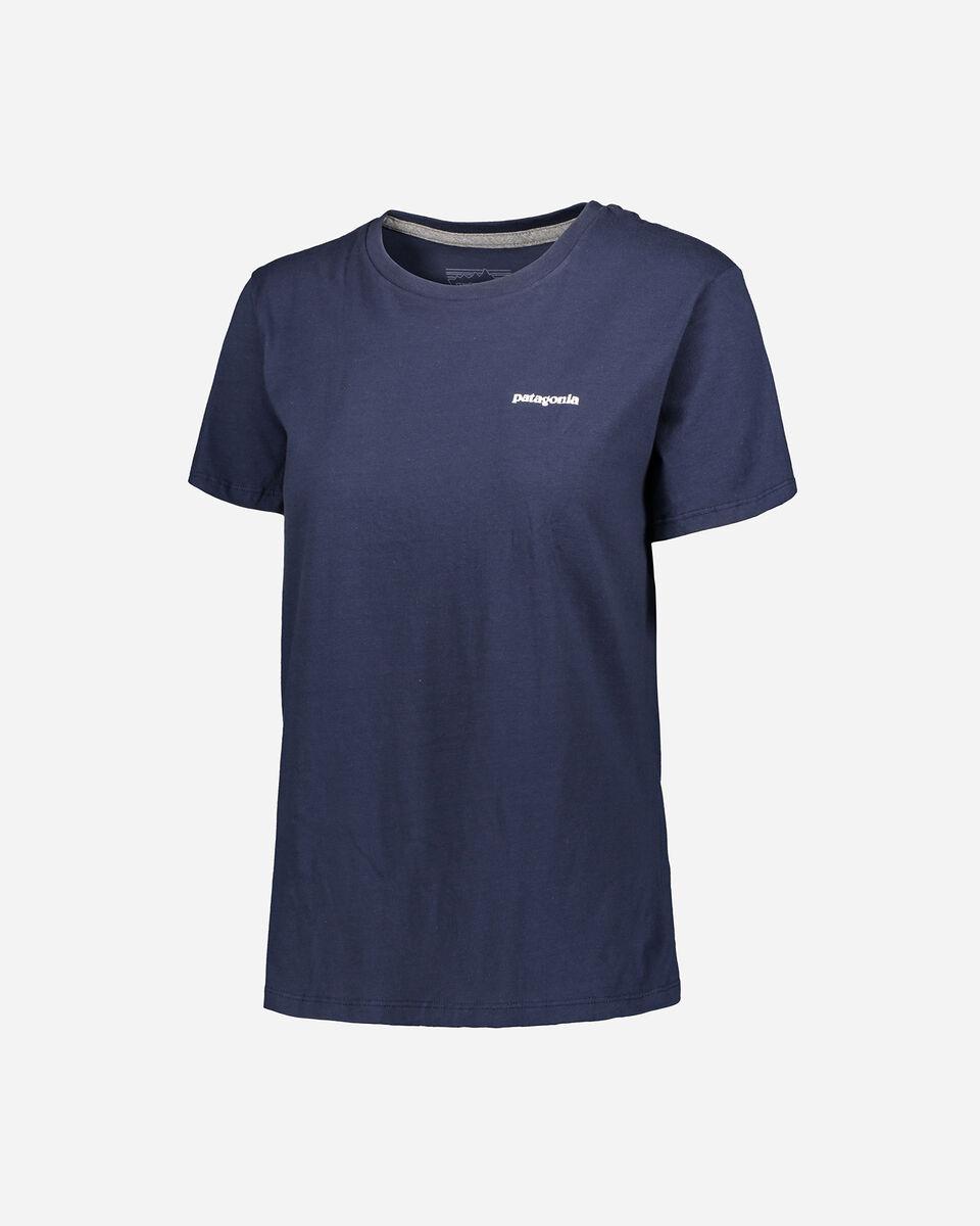 T-Shirt PATAGONIA P-6 LOGO ORGANIC W S4089236 scatto 0