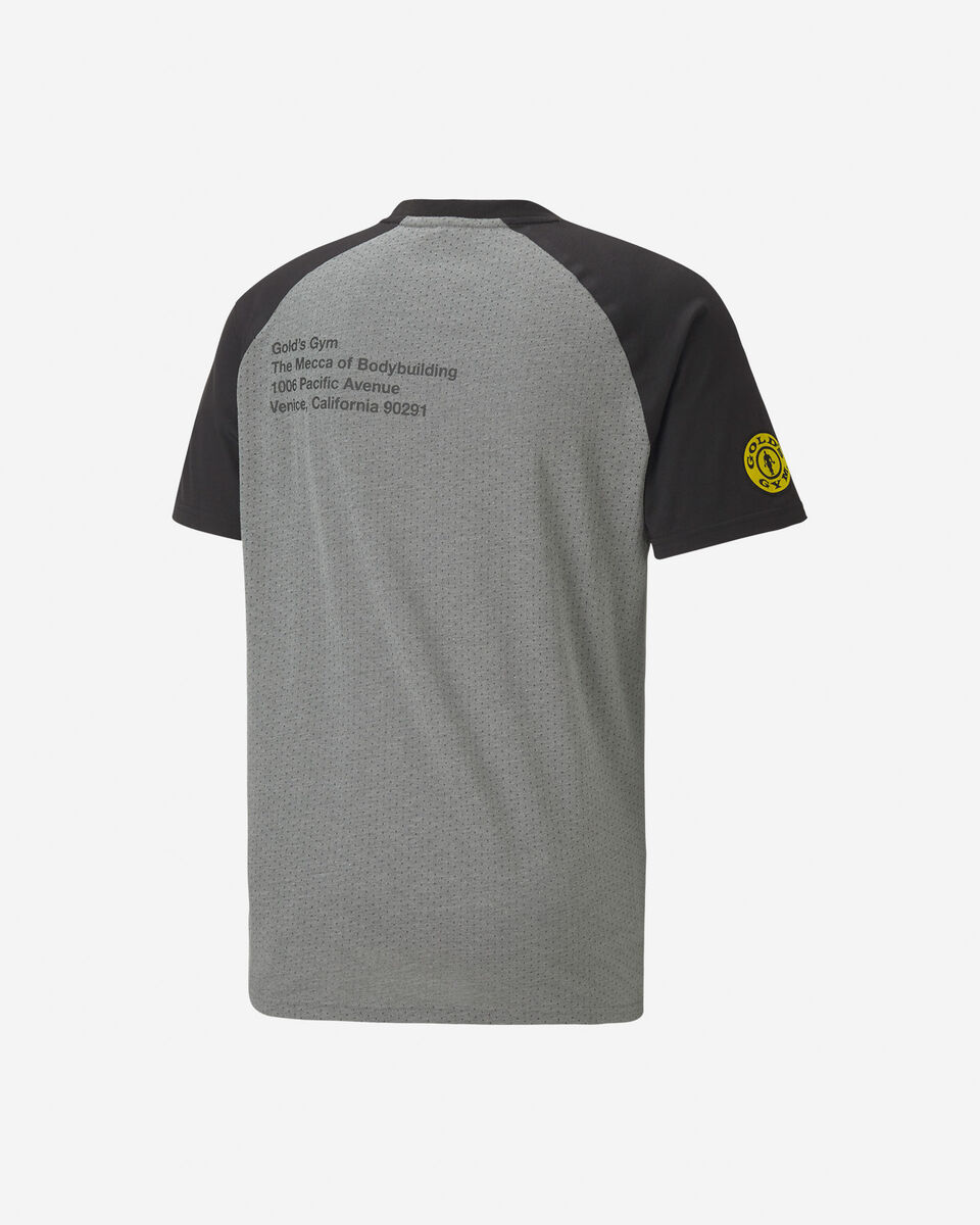 T-Shirt PUMA GOLD'S GYM M S5197190 scatto 1