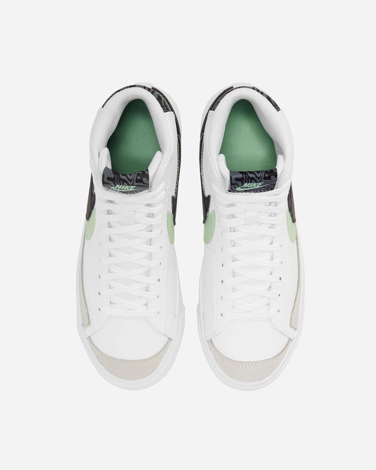 Scarpe sneakers NIKE BLAZER MID '77 SE JR GS S5270466 scatto 3