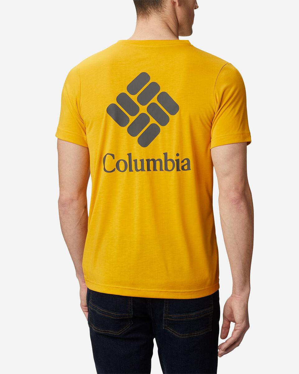 T-Shirt COLUMBIA MAXTRAIL LOGO M S5174871 scatto 3