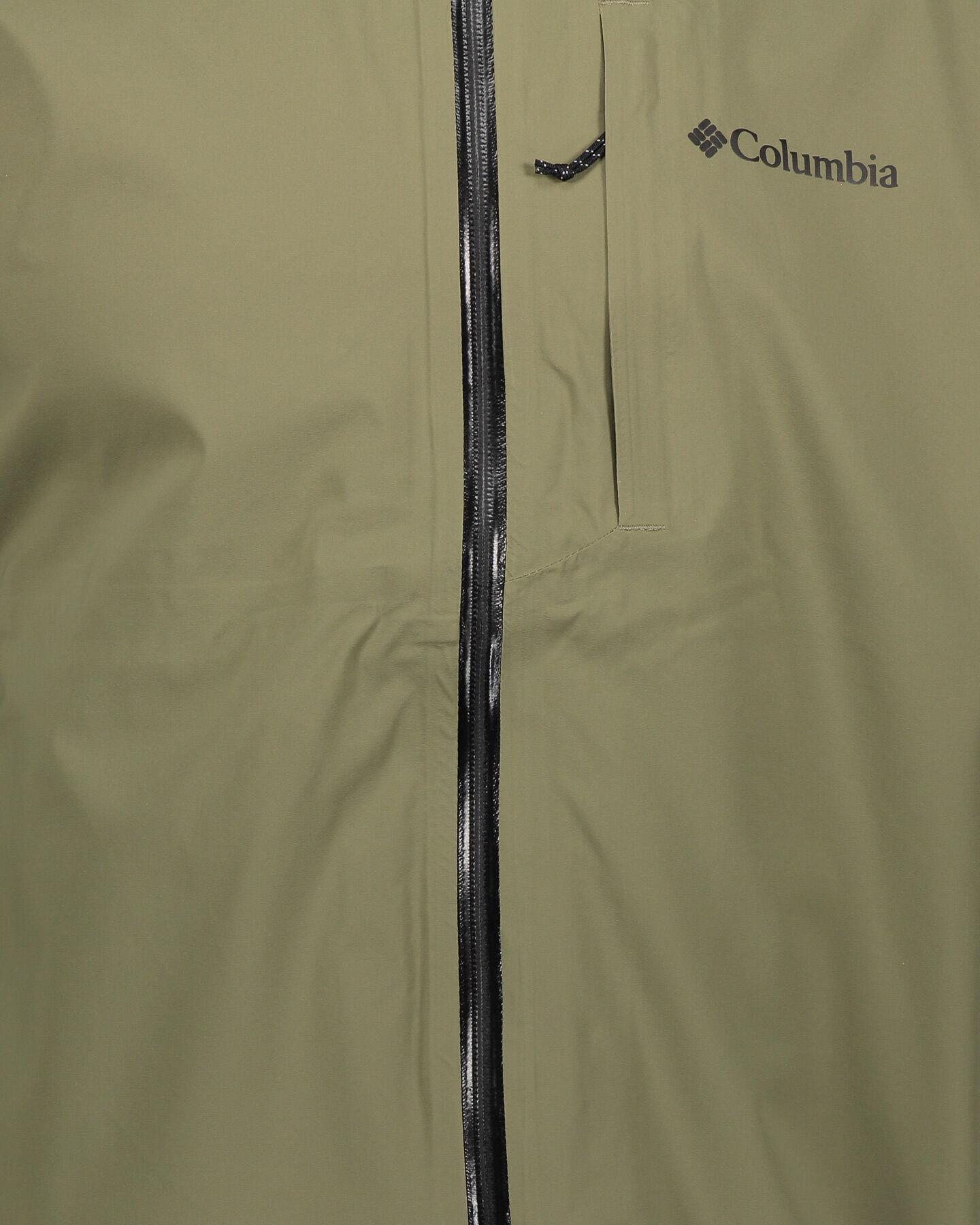 Giacca outdoor COLUMBIA OMNI-TECH AMPLI-DRY SHELL M S5291952 scatto 3