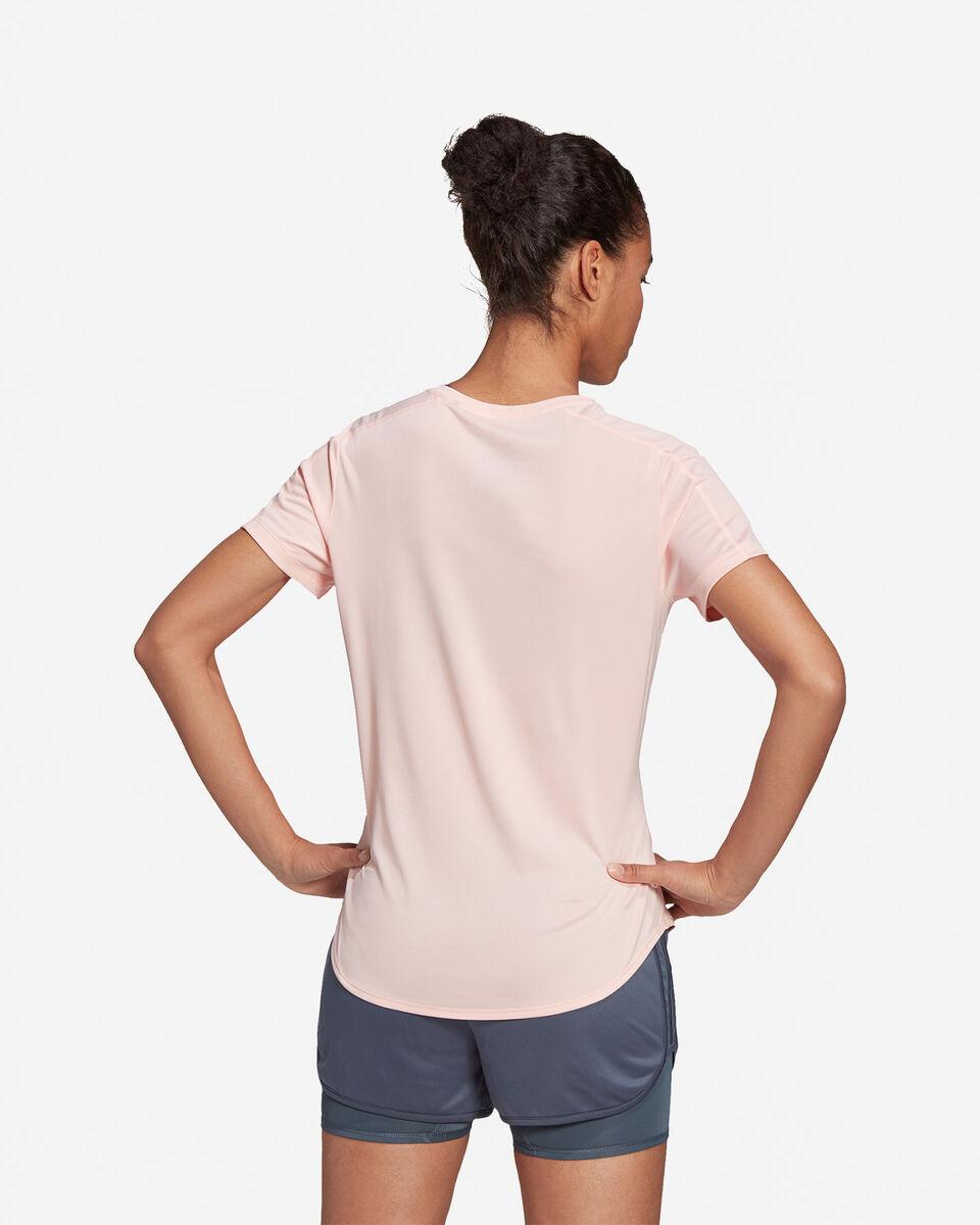 T-Shirt running ADIDAS RUN IT 3 STRIPES W S5210001 scatto 4