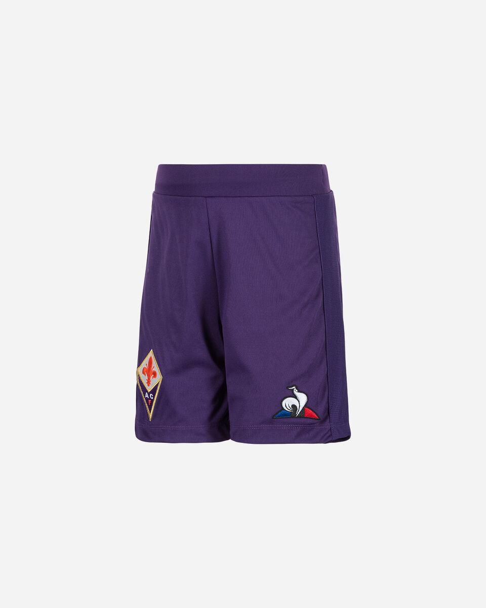 Pantaloncini calcio LE COQ SPORTIF FIORENTINA 19-20 JR S5185063 scatto 0