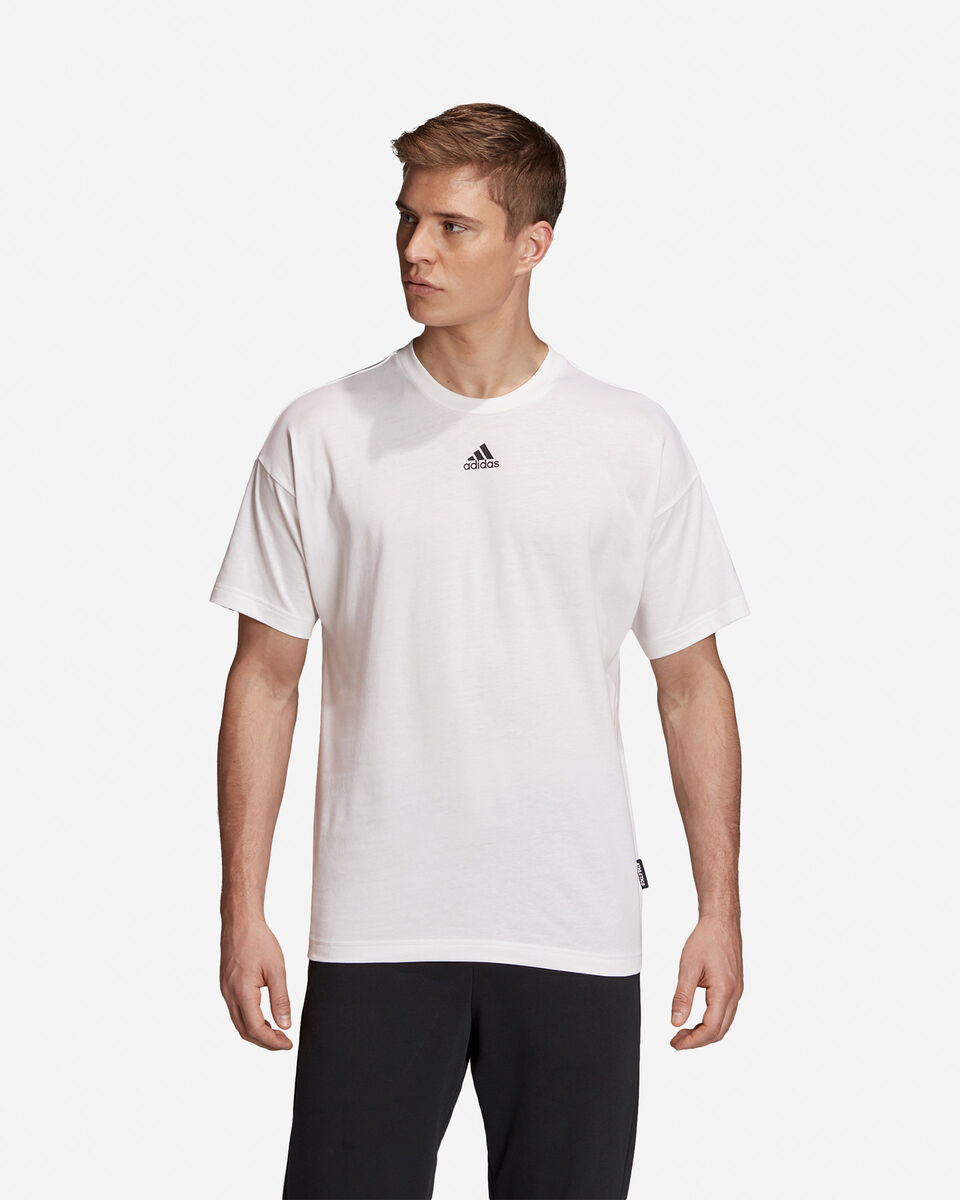 T-Shirt ADIDAS MUST HAVE 3 STRIPES M S5216653 scatto 2