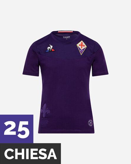 Maglia calcio LE COQ SPORTIF FIORENTINA CHIESA HOME JR 19-20