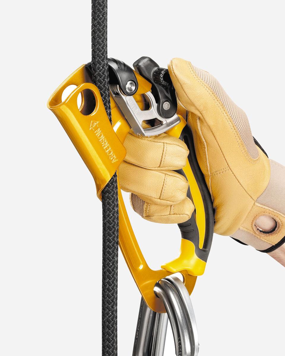 Accessorio arrampicata PETZL MANIGLIA PETZL ASCENSION DX B17ARA S1147024|9999|UNI scatto 2