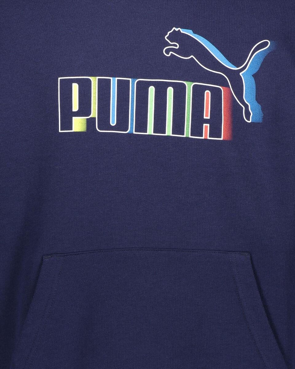 Felpa PUMA PRIME BLANK BASE HOODY M S5339786 scatto 2