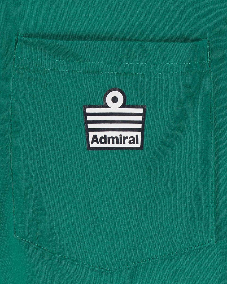 Pantaloncini ADMIRAL LOGO M S4073989 scatto 3