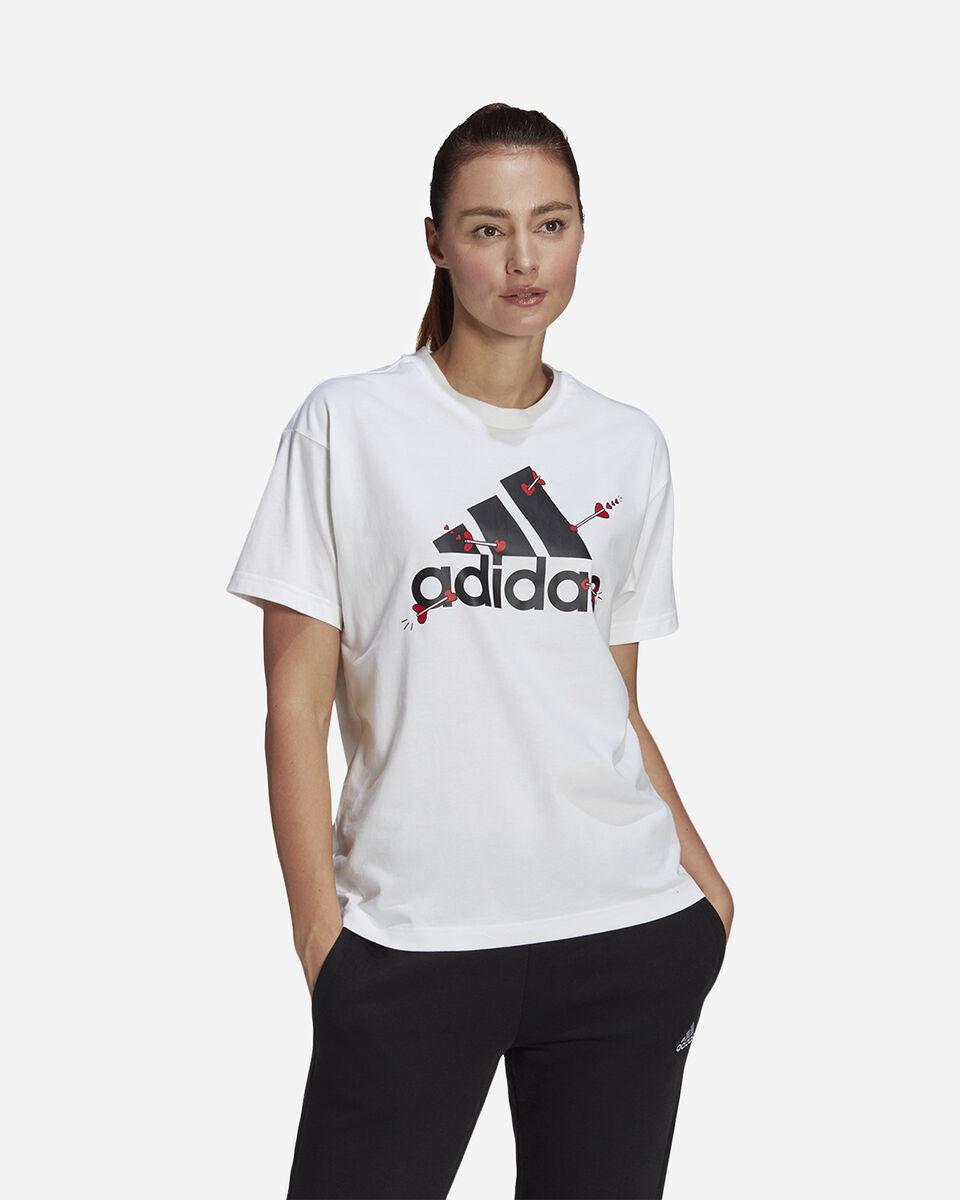 T-Shirt ADIDAS VALENTINE W S5274725 scatto 1