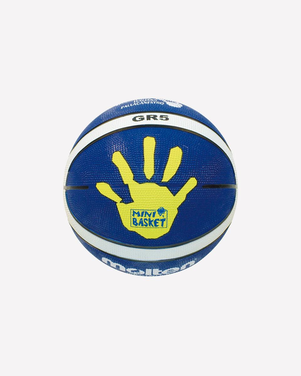 Pallone basket MOLTEN GR5 MIS.5 S0695416 1 UNI scatto 1