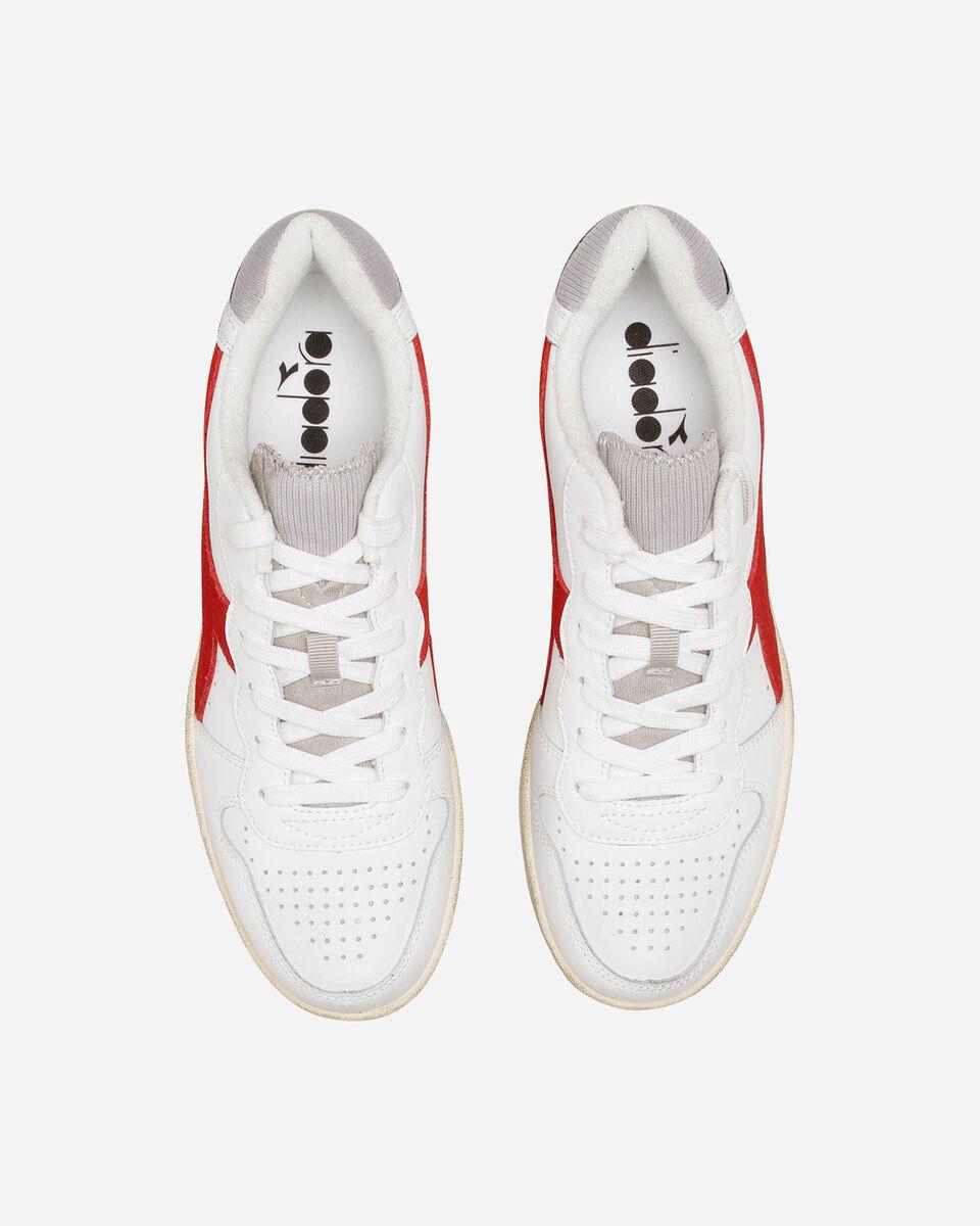 Scarpe sneakers DIADORA MI BASKET LOW USED M S5226859 scatto 3