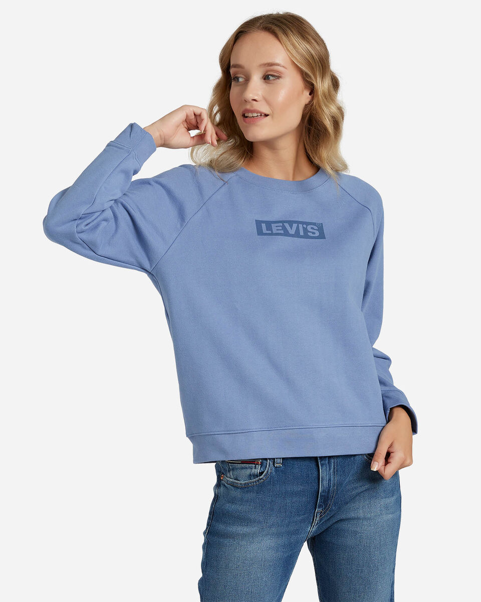 Felpa LEVI'S RELAXED GRAPHIC BOXTAB W S4083510 scatto 0