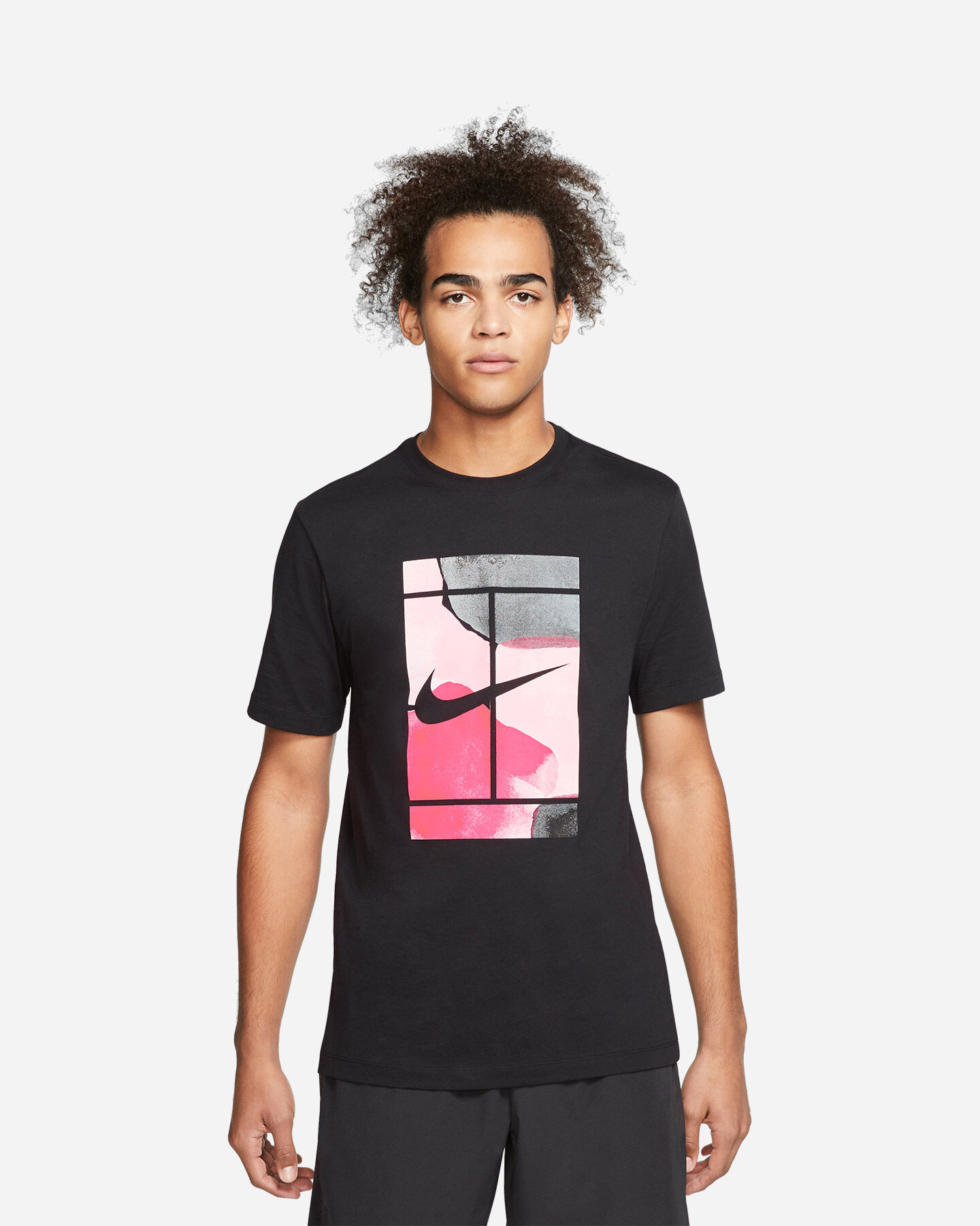 T-Shirt tennis NIKE COURT M S5164888 scatto 0