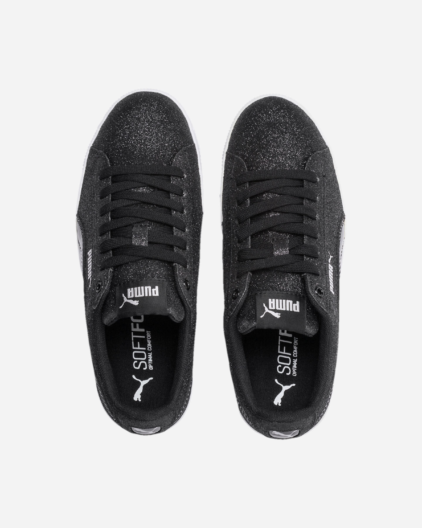 Scarpe sneakers PUMA VIKKY PLATFORM GLITZ JR GS S5087505 scatto 3