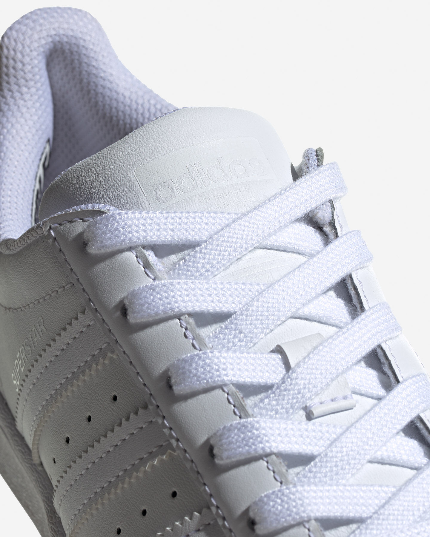 Scarpe sneakers ADIDAS SUPERSTAR GS JR S5151488 scatto 3