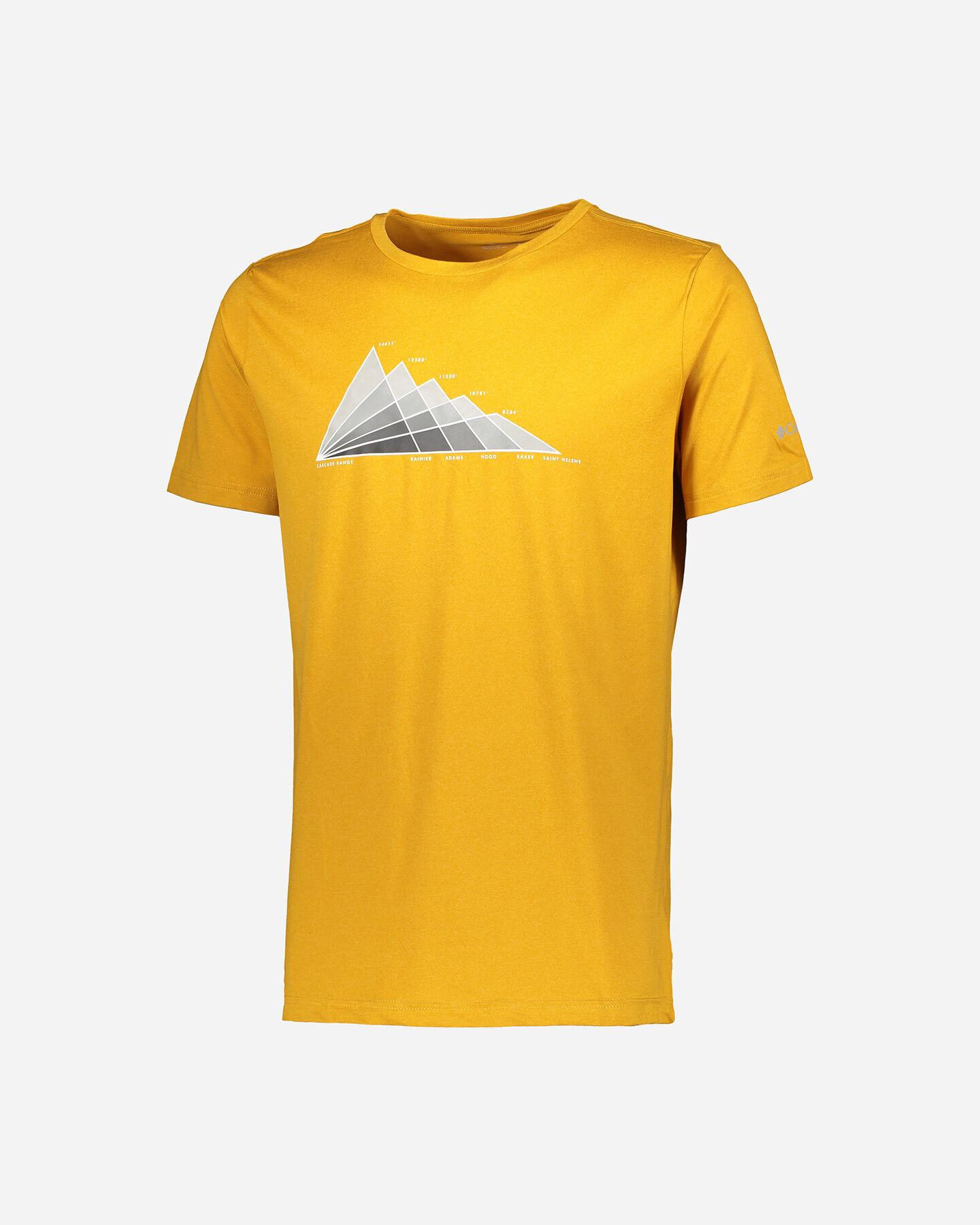 T-Shirt COLUMBIA TECH TRAIL GRAPHIC M S5291753 scatto 0
