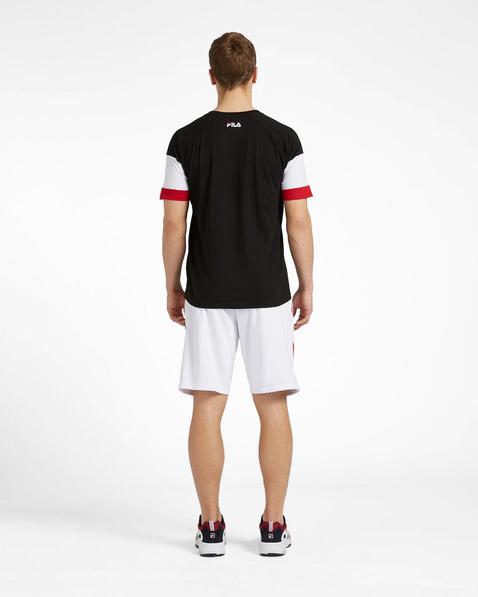 T-Shirt FILA NEW COLOR BLOCK M S4088467 scatto 2