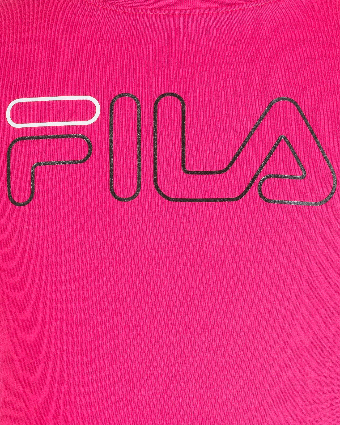 T-Shirt FILA LOGO JR S4081141 scatto 2