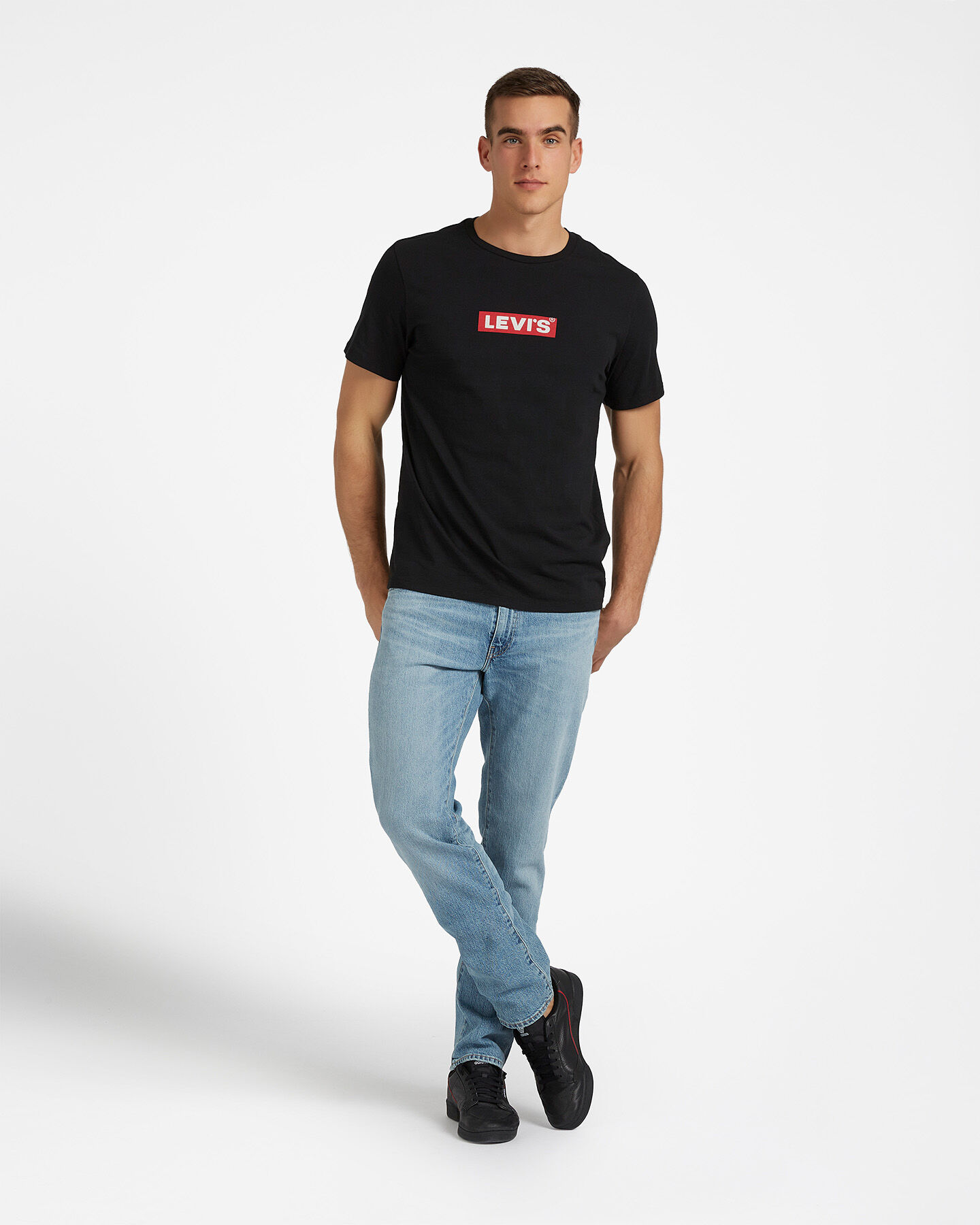 T-Shirt LEVI'S BOXTAB GRAPHIC M S4076920 scatto 1