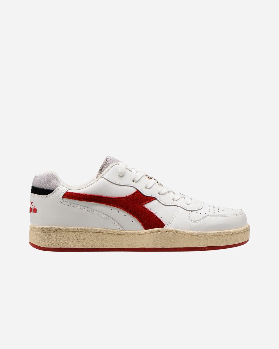 Scarpe sneakers DIADORA MI BASKET LOW USED M S5226859 scatto 0
