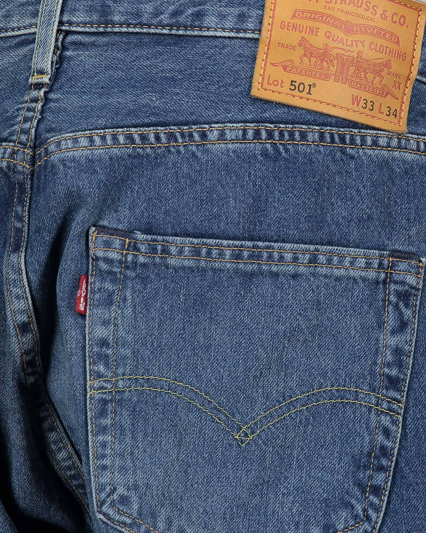 Jeans LEVI'S 501 REGULAR M S4070547 scatto 4