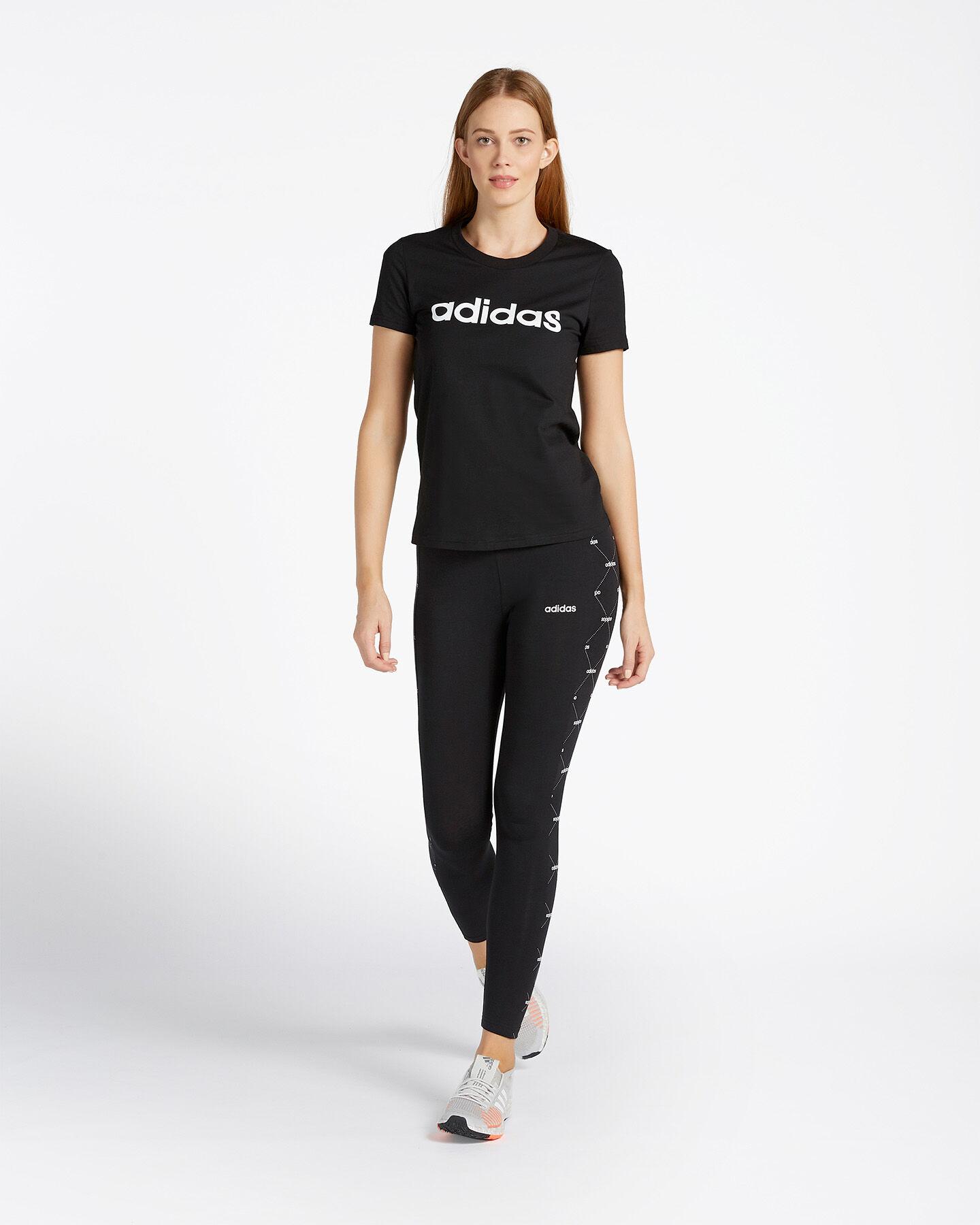 T-Shirt ADIDAS ESSENTIALS LINEAR W S2013812 scatto 3
