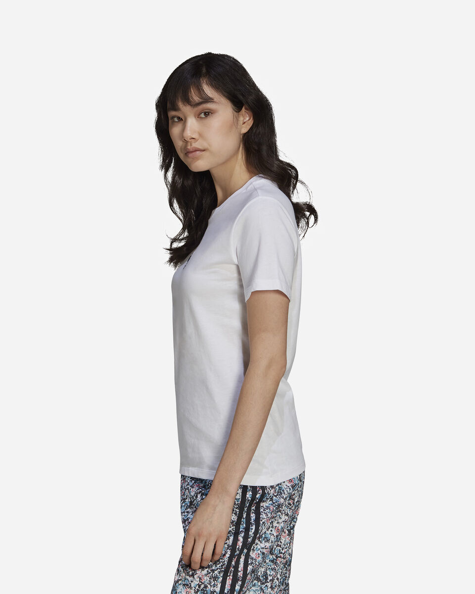 T-Shirt ADIDAS FLOWER W S5271153 scatto 2