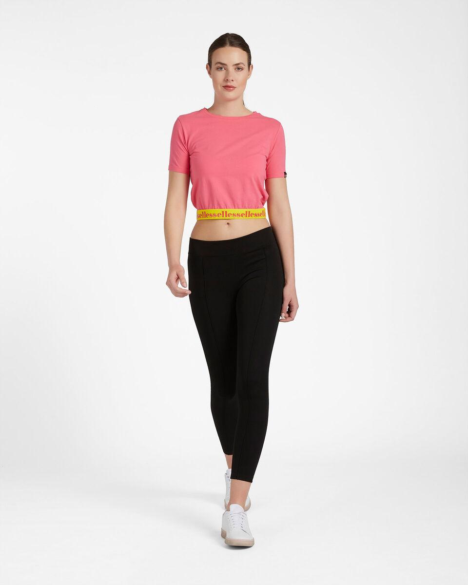 T-Shirt ELLESSE CROP ELASTIC W S4087993 scatto 3