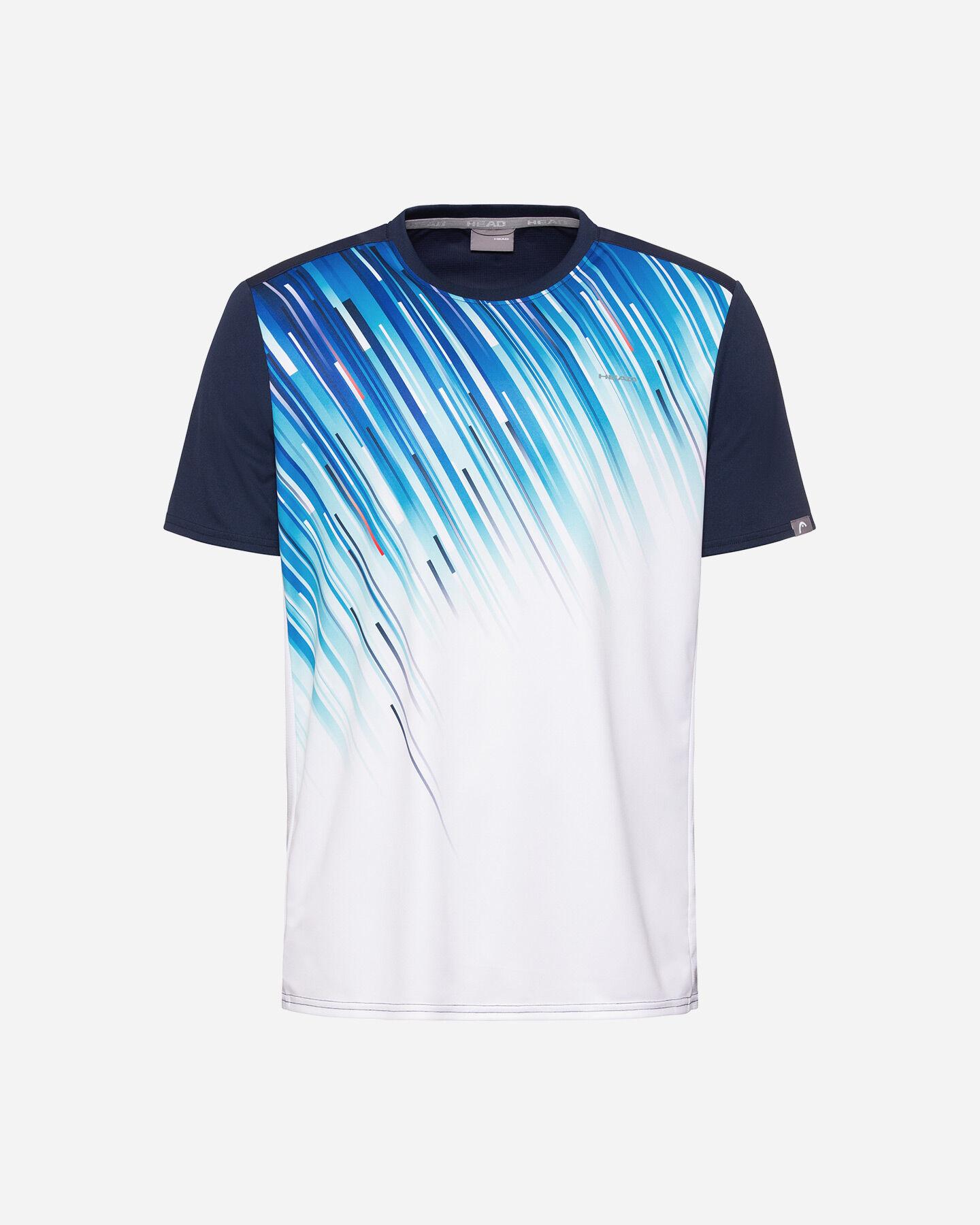T-Shirt tennis HEAD SLIDER M S5251655|DBRO|XXL scatto 0
