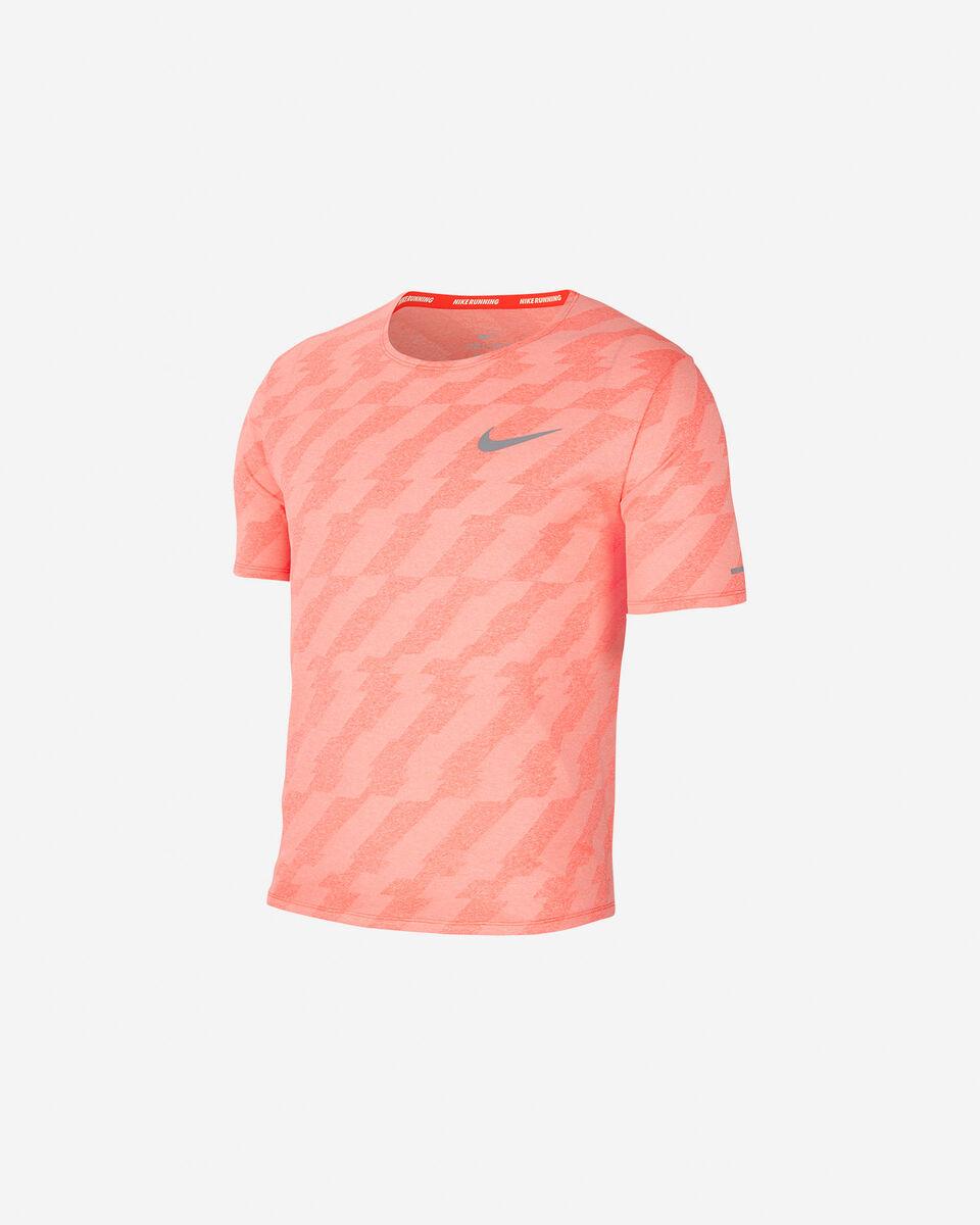 T-Shirt running NIKE DRI-FIT MILER FUTURE FAST M S5225520 scatto 0