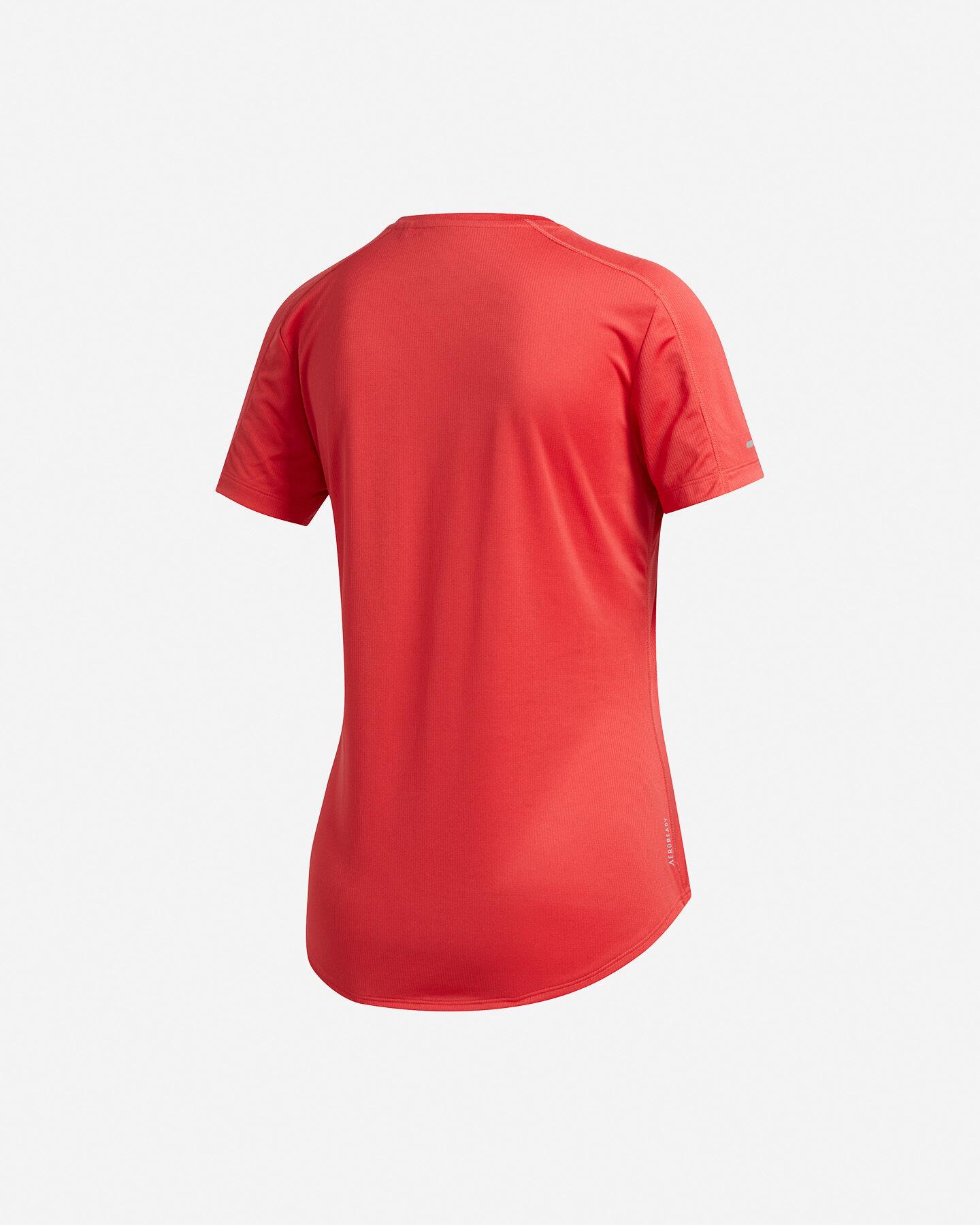 T-Shirt running ADIDAS RUN IT 3-STRIPES FAST W S5150018 scatto 1