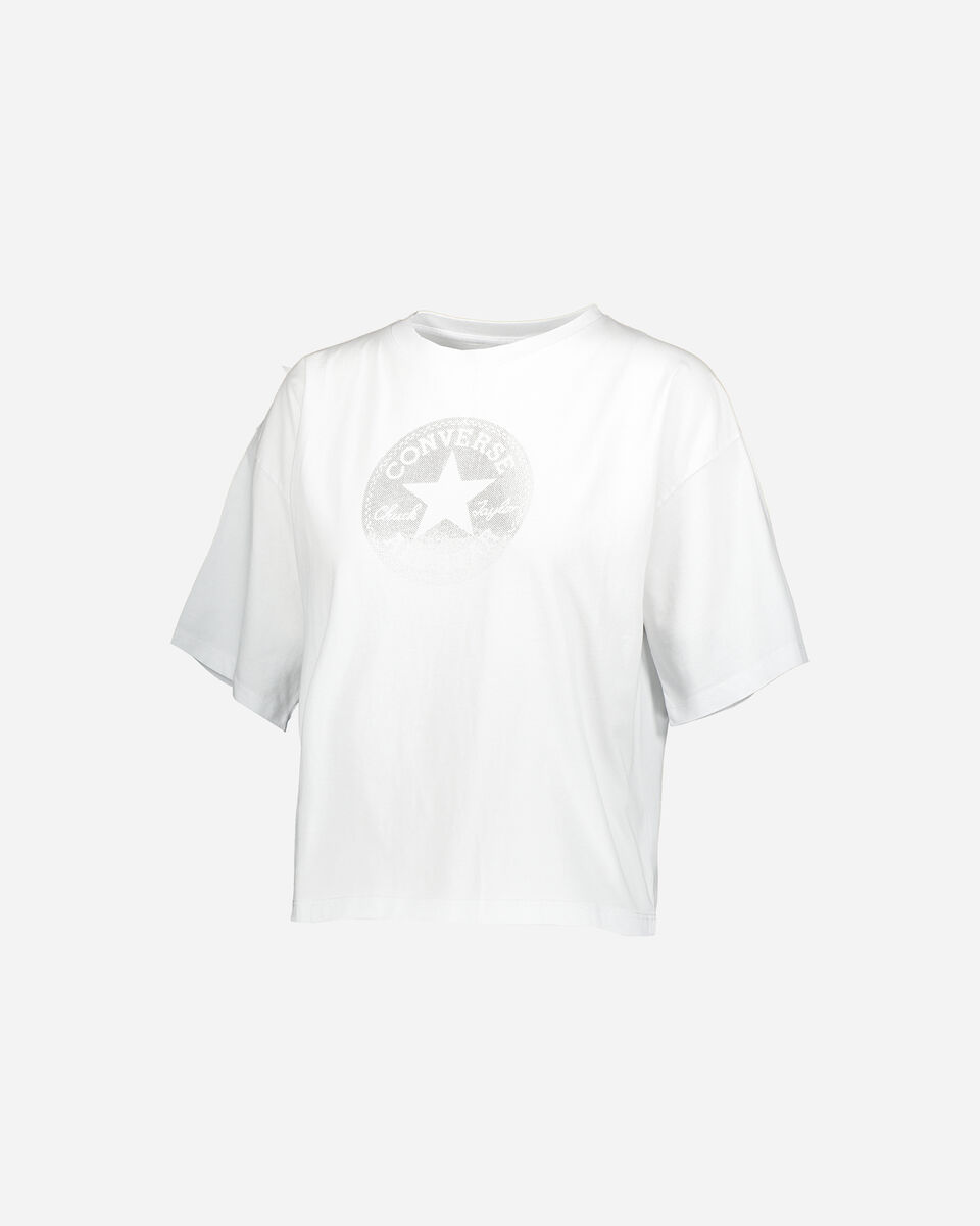 T-Shirt CONVERSE CROP CHUCK W S4068845 scatto 0