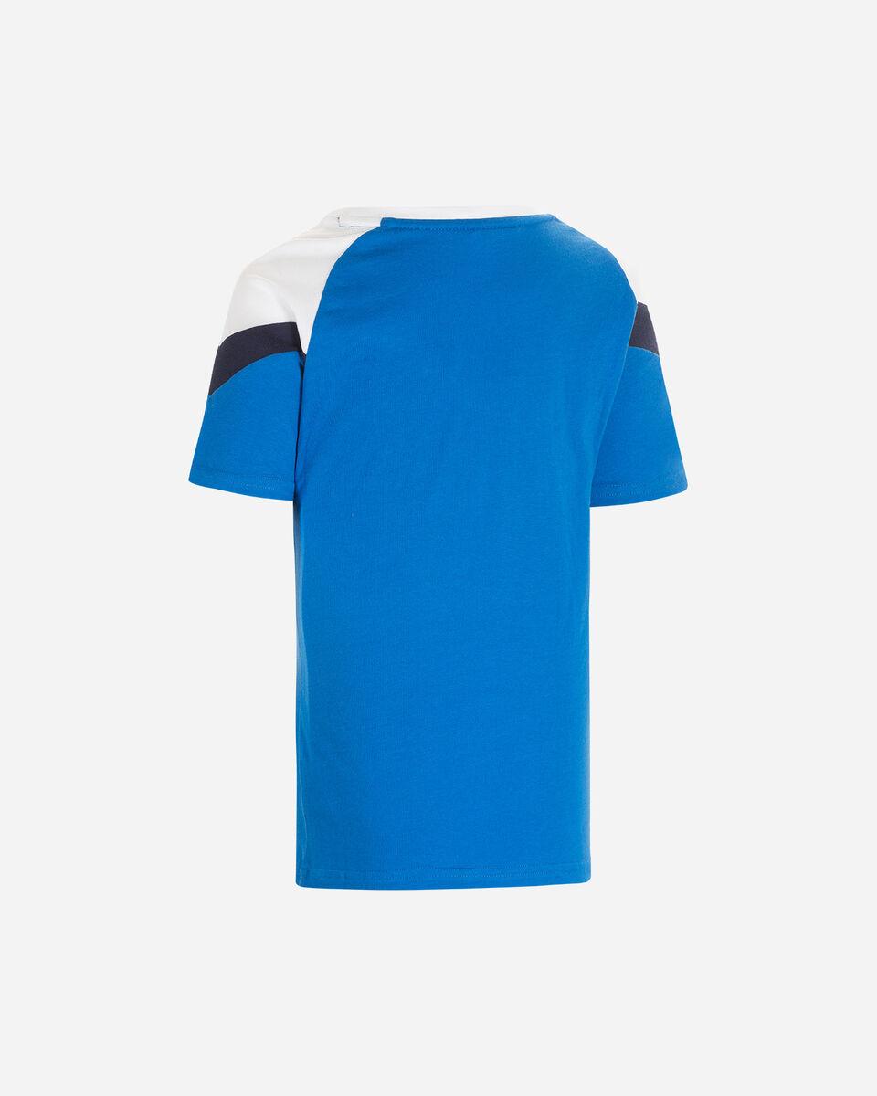 Abbigliamento calcio PUMA ITALIA ICON 20 JR S5185558 scatto 1