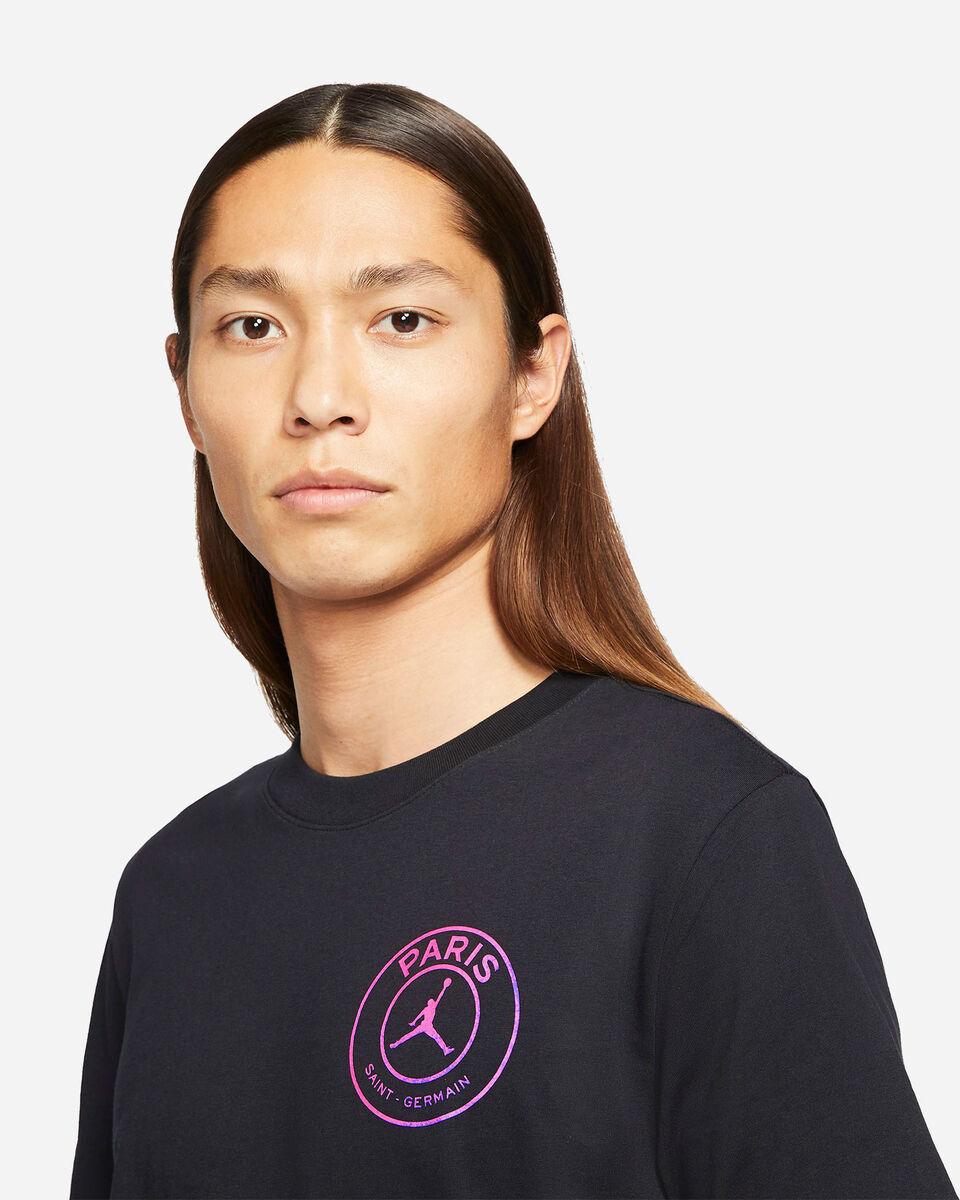 T-Shirt NIKE JORDAN PSG LOGO RETRO M S5267627 scatto 2