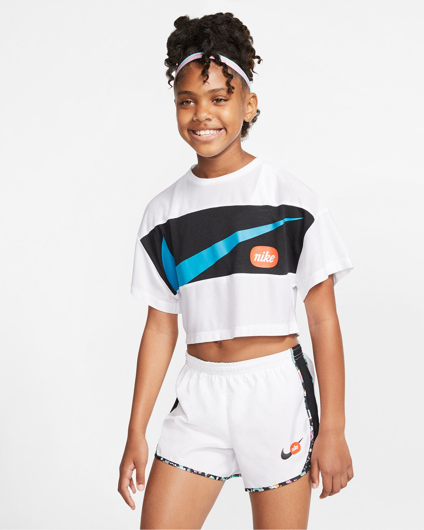 T-Shirt NIKE PHOTO JR S5164531 scatto 2