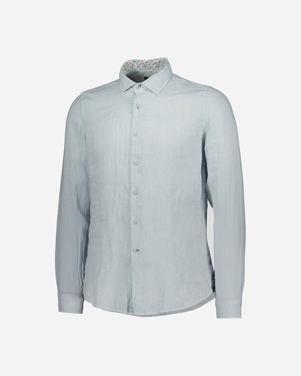 Camicia COTTON BELT LINEN M S5182791 scatto 0