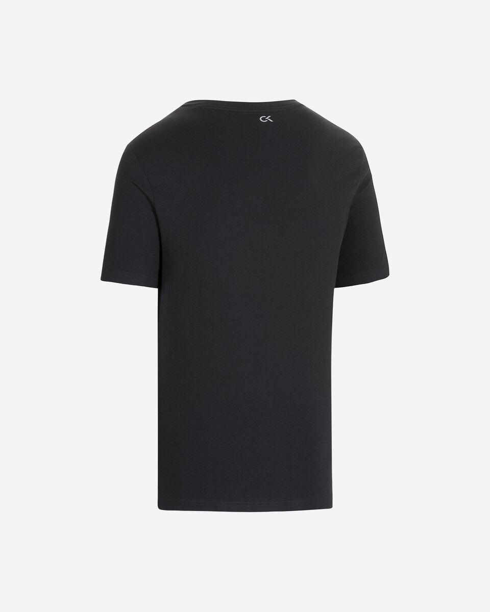 T-Shirt CALVIN KLEIN SUMMER LOGO M S4079662 scatto 1