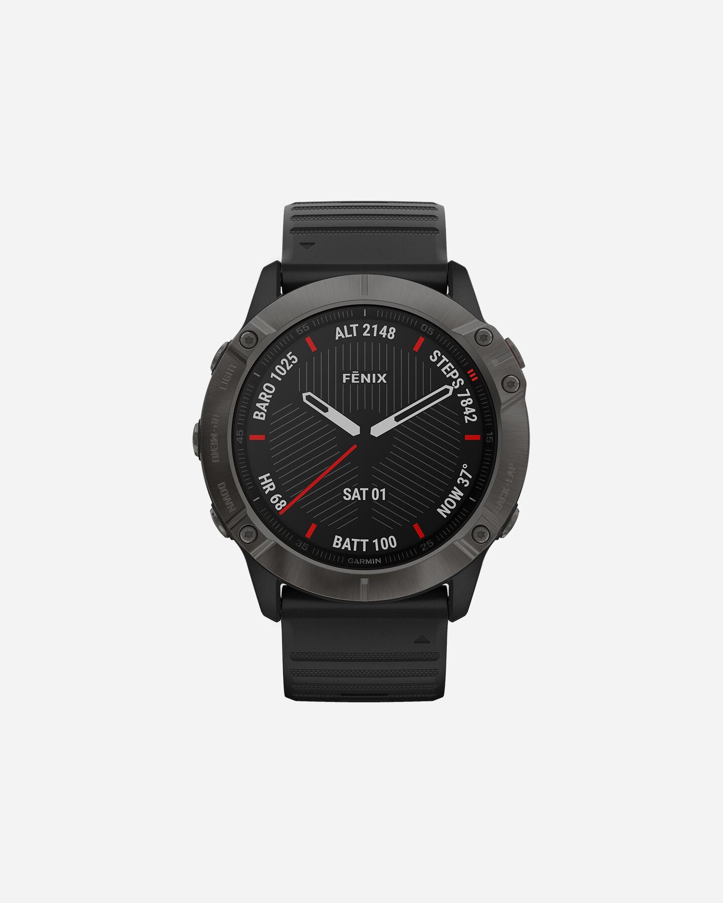 Orologio multifunzione GARMIN FENIX 6X SAPPHIRE S4076558 11 UNI scatto 0