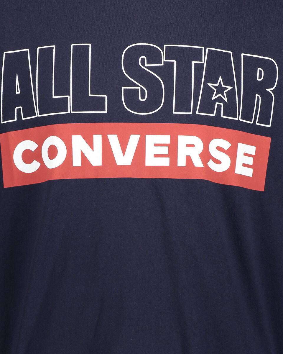 T-Shirt CONVERSE AMERICANA M S5181035 scatto 2