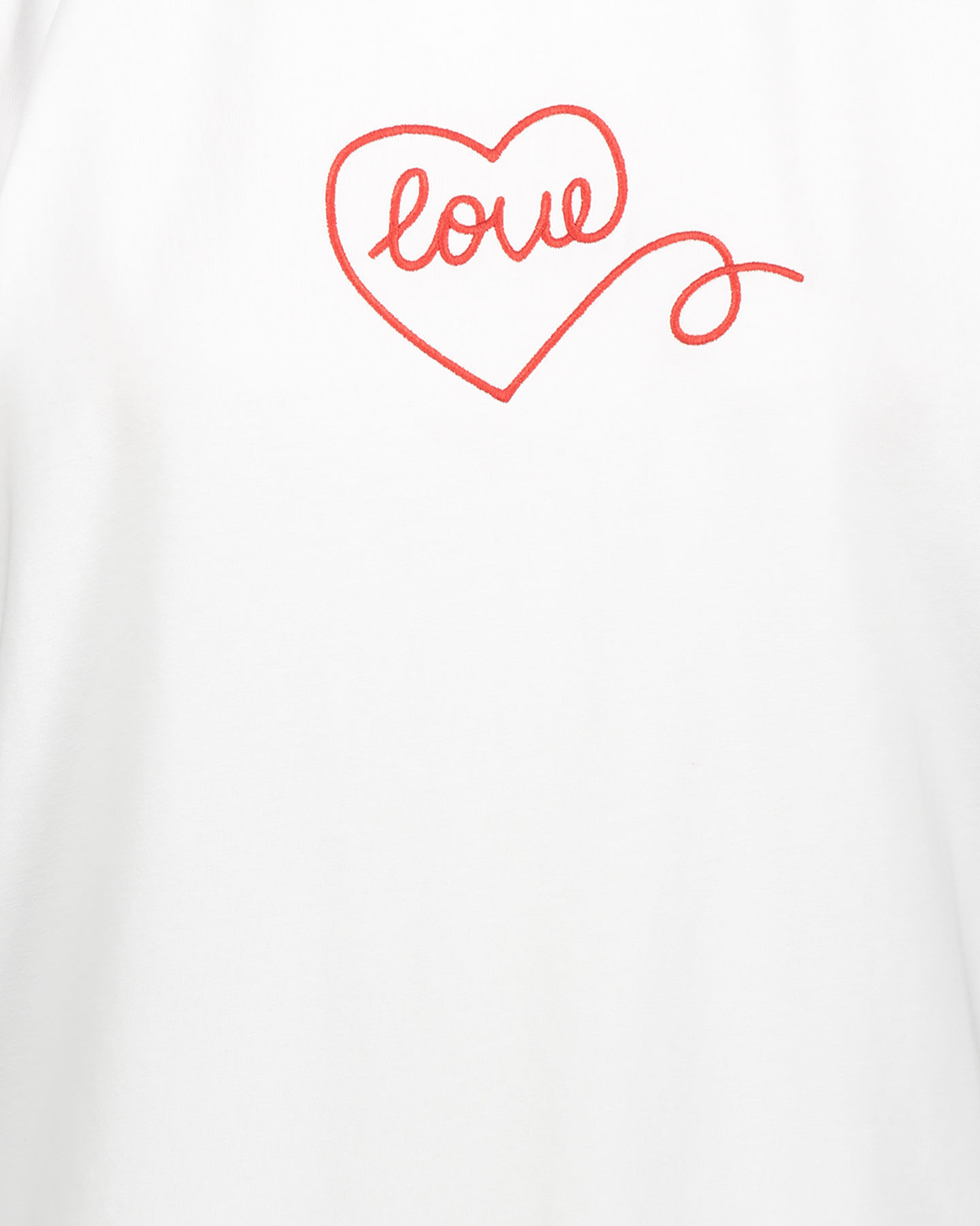T-Shirt CONVERSE BOYFRIEND CHUCK LOVE W S5300562 scatto 2