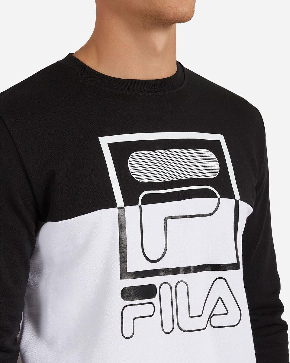 Felpa FILA COLOR BLOCK M S4073978 scatto 4