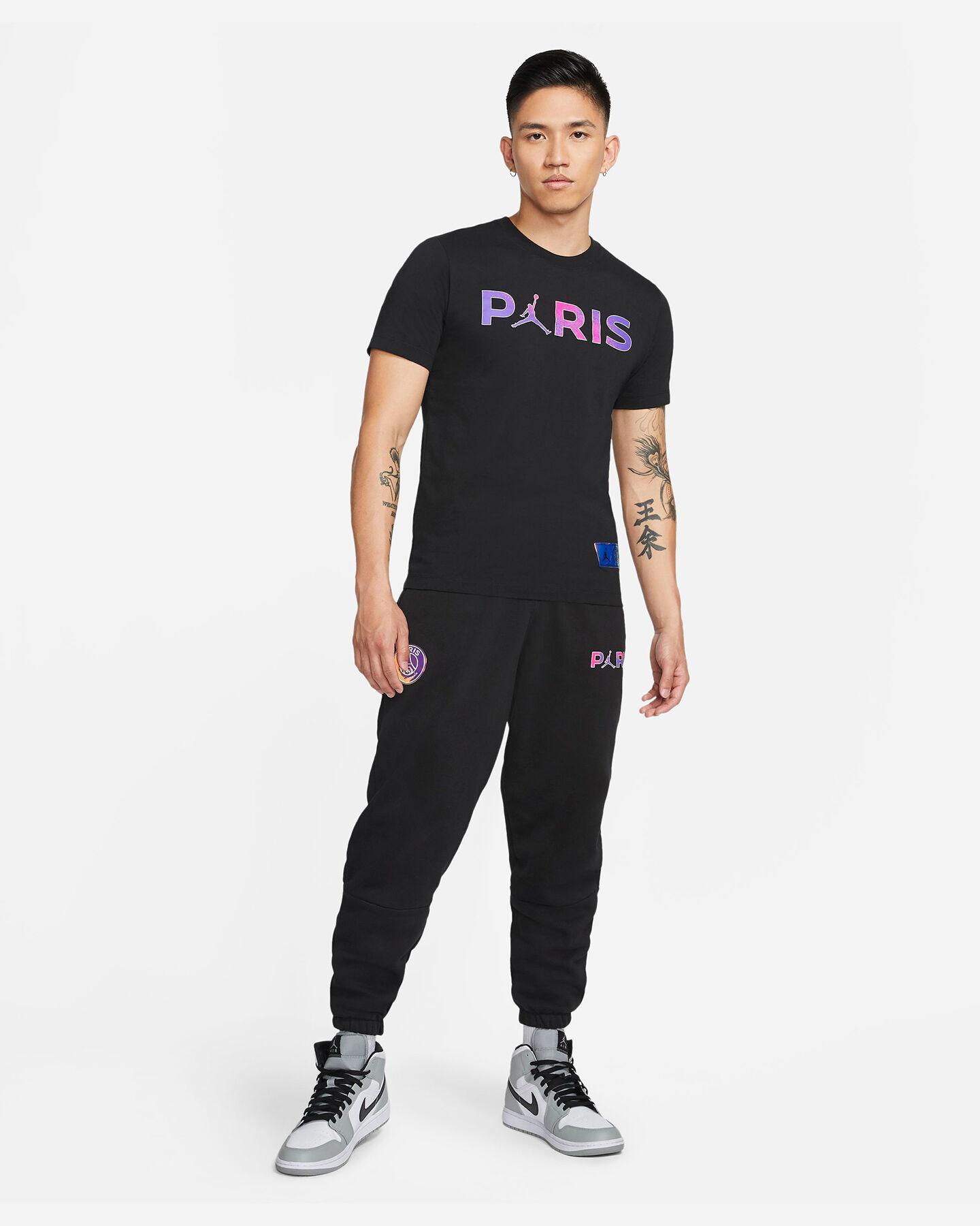 T-Shirt NIKE JORDAN PSG WORDMARK M S5267636 scatto 3