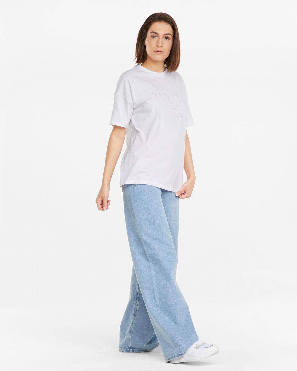 T-Shirt PUMA BLOGO CAT W S5334304 scatto 4