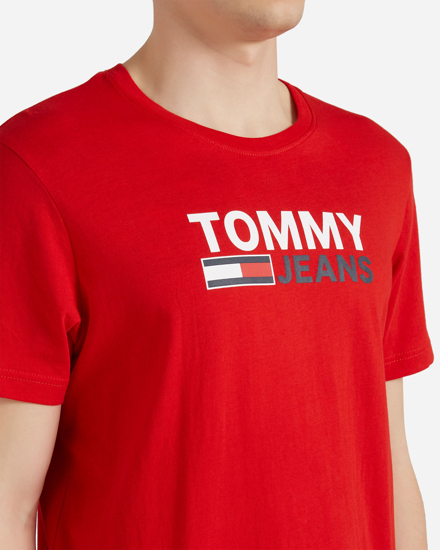 T-Shirt TOMMY HILFIGER CORP LOGO M S4088732 scatto 4