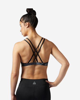 Bra training REEBOK STRAPPY CAMO SPORTS W
