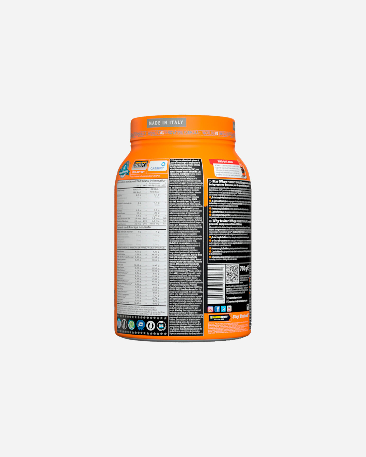 Energetico NAMED SPORT STAR WHEY ISOLATE SUBLIME CHOCOLATE 750G S1308868|1|UNI scatto 3