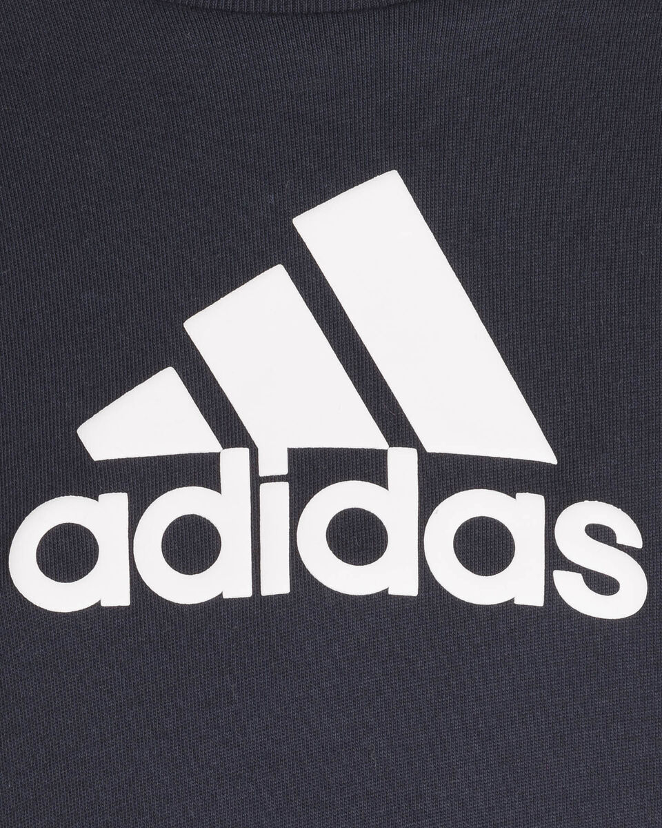 T-Shirt ADIDAS BADGE OF SPORT  JR S5273801 scatto 2
