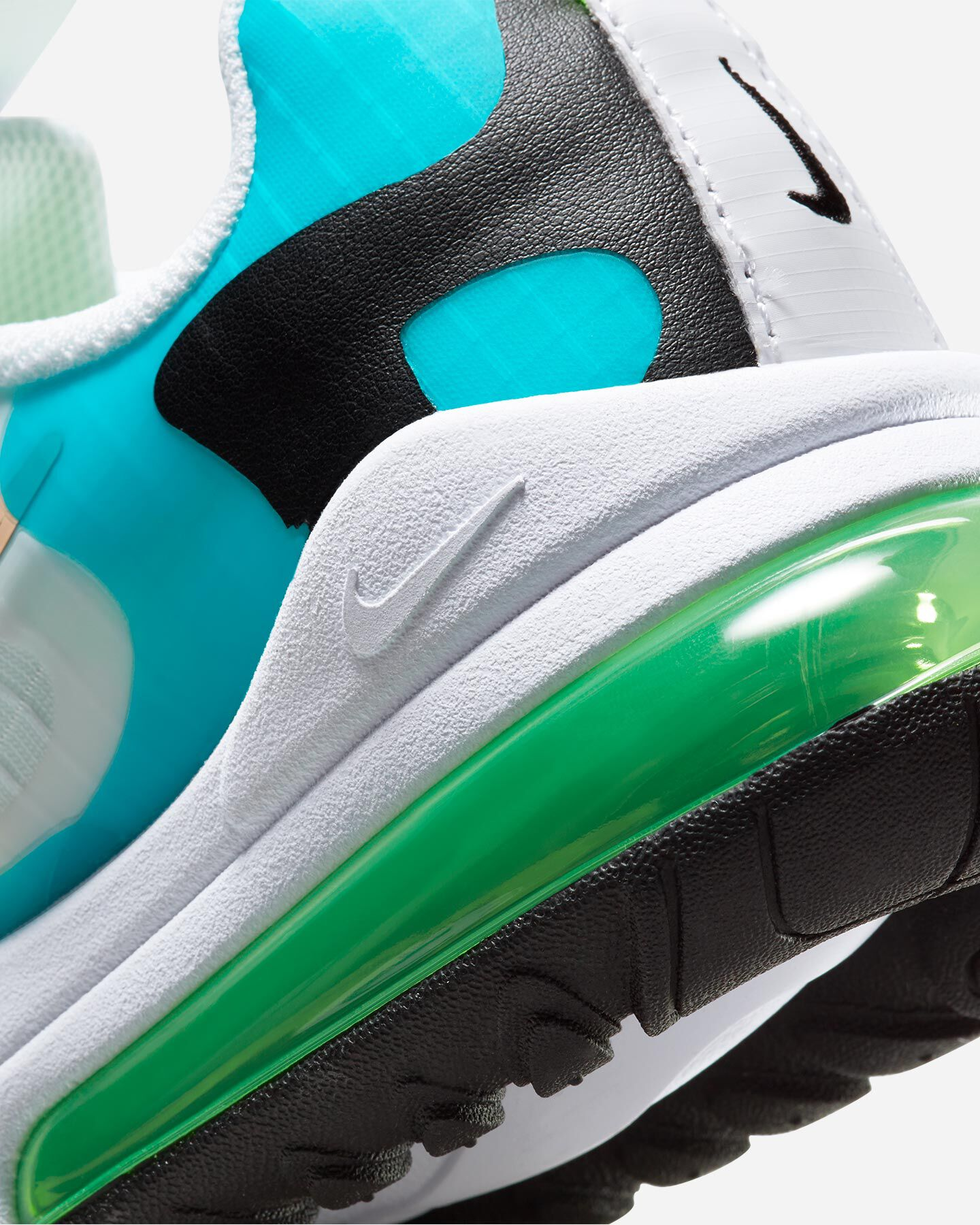 Scarpe sneakers NIKE AIR MAX 270 REACT SE JR GS S5194693 scatto 5
