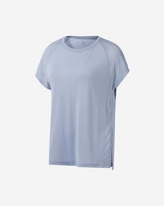 T-Shirt training REEBOK ONE SERIES BURNOUT W